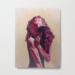 bold beauty Metal Print