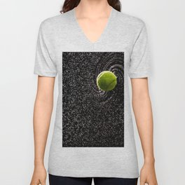 Spin Serve     Tennis Ball Unisex V-Neck