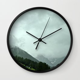 on the way: Innsbruck, Austria Wall Clock