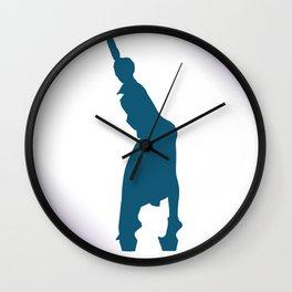 Gagahouette 1 Wall Clock