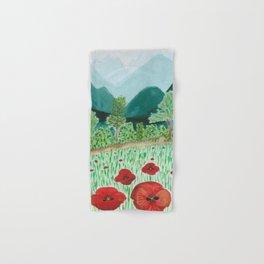 poppy-coquelicot Hand & Bath Towel