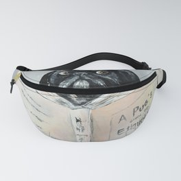 A PUG'S GUIDE TO ETIQUETTE Fanny Pack
