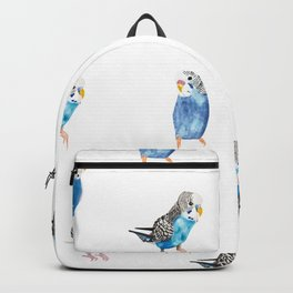 Blue Canaries Backpack