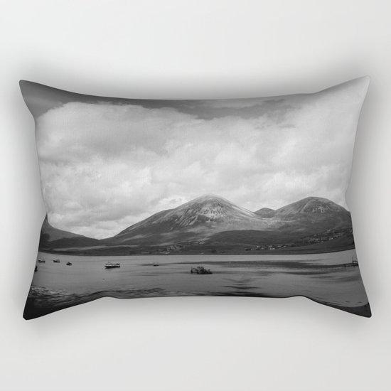 Colorless Paradise Rectangular Pillow