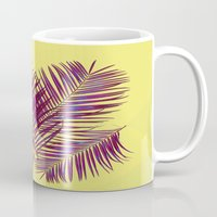 palms Mugs featuring Palms by  Agostino Lo Coco