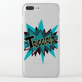 Triggered Clear iPhone Case