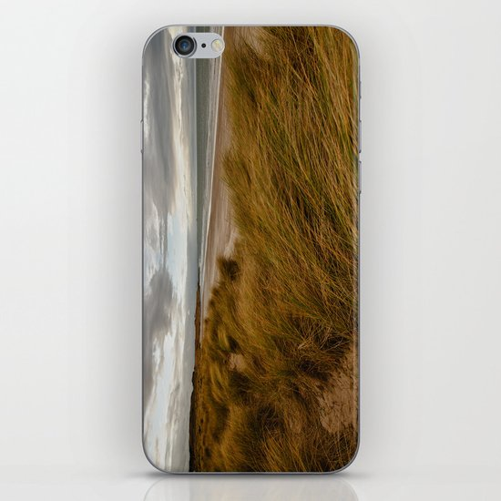 Bamburgh Beach iPhone & iPod Skin