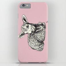 Baby Animals - Lamb (Pink) iPhone 6 Plus Slim Case