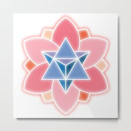 Tetra-Blossom Metal Print