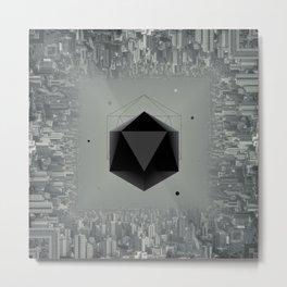 City Intruder Metal Print