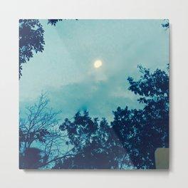 Sullen moon Metal Print