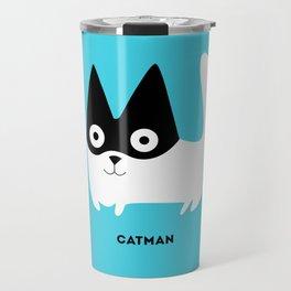 Catman Travel Mug