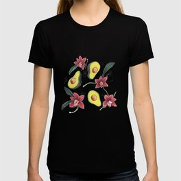 Avocados & Orchids T-shirt