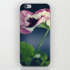 pansy iPhone & iPod Skin