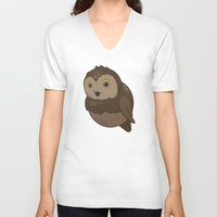 rocky V-neck T-shirts featuring Rocky by Birbles