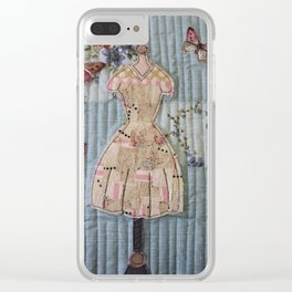 The Day Dress Clear iPhone Case