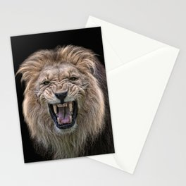 beware of the cat Stationery Cards