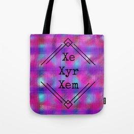 Xe/Xyr/Xem Pronouns Tote Bag