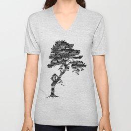 Bodhi Tree Unisex V-Neck