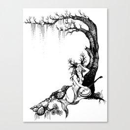 Bayou Dryad Canvas Print