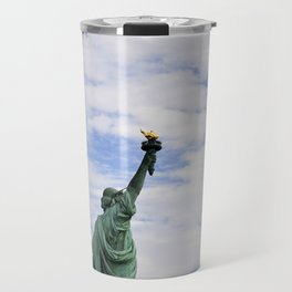 Proud Lady Liberty Travel Mug