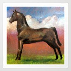Horse 1 Art Print