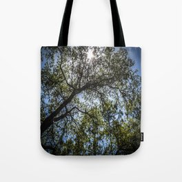 Upwards Tote Bag