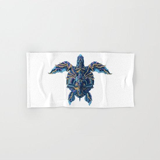 Sea Turtle (Color Version) Hand & Bath Towel