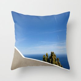 Clean Lines Cote d'Azur Throw Pillow