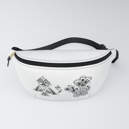 Odd Couple - Valentine's day musings Fanny Pack