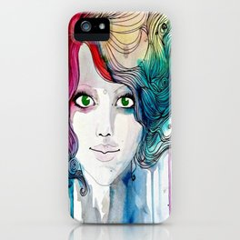 The Charming Idealism iPhone Case