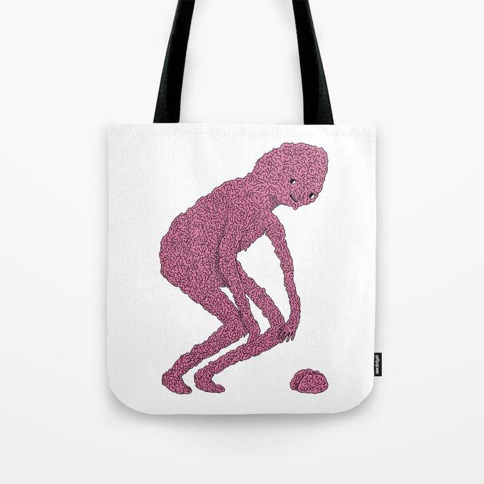 Brain man Tote Bag