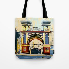 Luna Park in St.Kilda Tote Bag