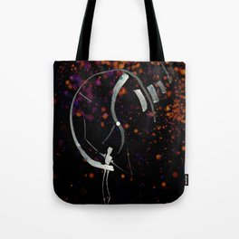 A Tarot of Ink Major Arcana X Wheel of Fortune Tote Bag