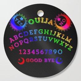 Rainbow Carbon Ouija Cutting Board