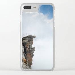 Glacier Point, Yosemite National Park, 7,000ft Above Yosemite Valley, Yosemite Photography Clear iPhone Case