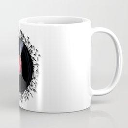 Musical Notes Record Coffee Mug