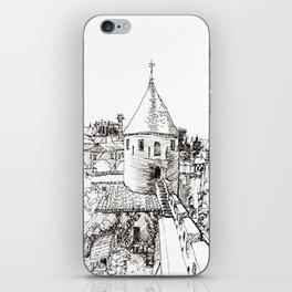 garden tower iPhone Skin