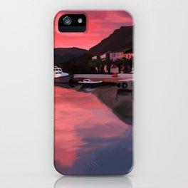 Sea Landscape At Marina iPhone Case