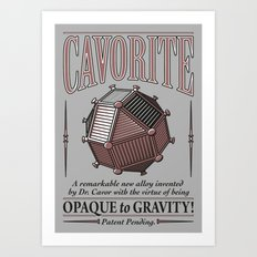 Cavorite Art Print