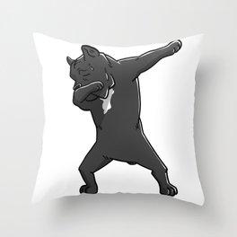 Funny Dabbing Cane Corso Dog Dab Dance Throw Pillow