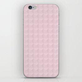 Light pink simple geometric iPhone Skin