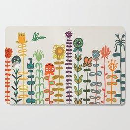 Happy garden Cutting Board