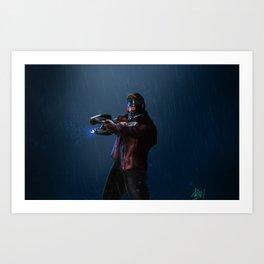 Galaxy Guardian Art Print