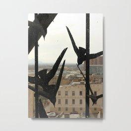 Birds of the City Metal Print