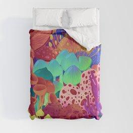 Shrooms Duvet Cover