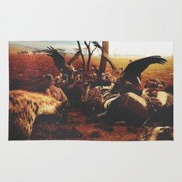 Hyenas Rug