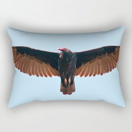 The Turkey Vulture Rectangular Pillow