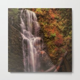Secon of two Berry Creek Falls photos Metal Print