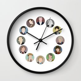 Time Of The Doctor Wall Clock